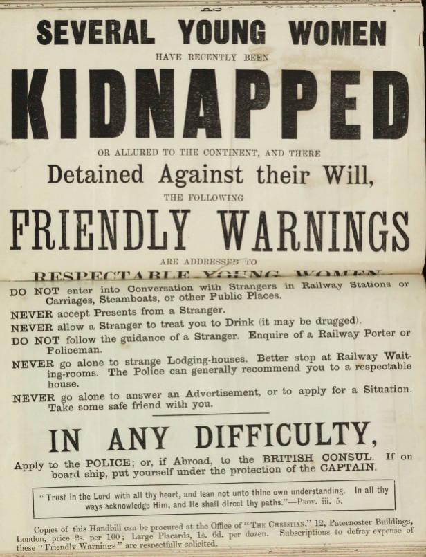 YWCA: Consejos para evitar un secuestro (o algo peor).