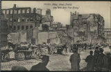 "Middle Abbey Street, Dublin. After ""The Sinn Fein Rising."" (postcard)"