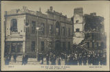 The Sinn Fein Revolt in Dublin. The Ruins of Liberty Hall (postcard)