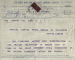 British delegation's investigation into the 'Zinoviev Letter' (telegram)