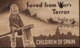 Saved from war's terror (charity envelope)