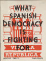 What Spanish democracy is fighting for