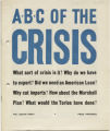 ABC of the crisis