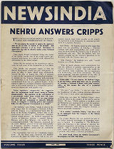 NewsIndia. Vol. 4, May 1942